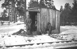 Men at Arizona Lumber and Timber Company Logging Camp #1