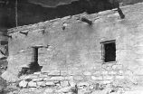 Keet Seel. Showing the type of walls. Lintells and Sills are usually stone - sometimes wood.