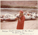 "Georgie Clark ""Woman of the River"" 72 years of age"